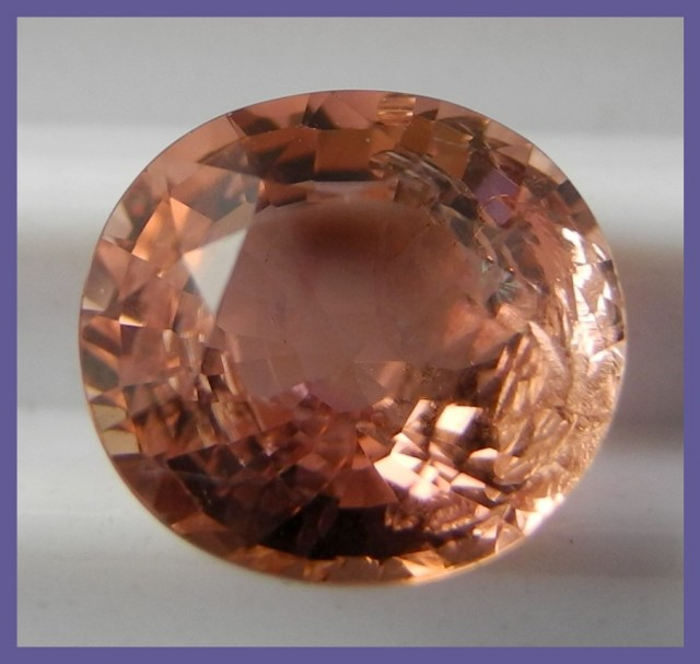 2.30CT ABSOLUTELY GORGEOUS-BUT FLAWED-ORANGE/PINK TOURMALINE