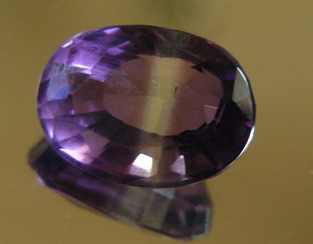 7.55 CTS AMETHYST  GEMSTONE FACETED   11496
