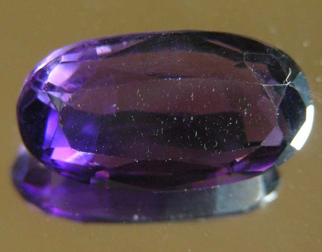 5.49 CTS AMETHYST  GEMSTONE FACETED   11497