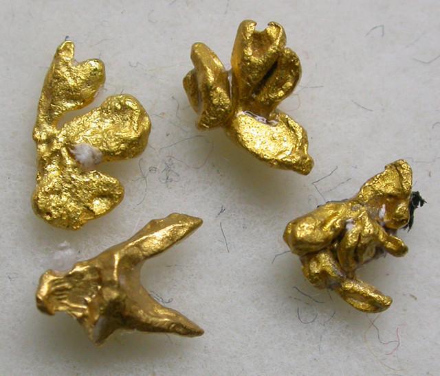 2.50 CTS RARE SMALL GOLD CRYSTALS  PARCEL-VENEZUELA [SB632 ]