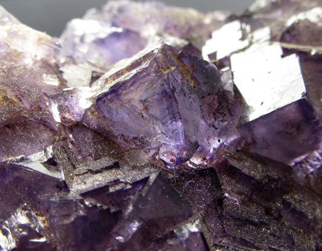 2.99 KILOS PURPLE   NATURAL  FLUORITE SPECIMEN MGSC 156