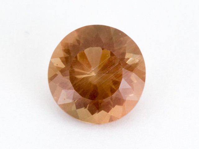 1.9ct Oregon Sunstone, Pink Round Brilliant (S437)