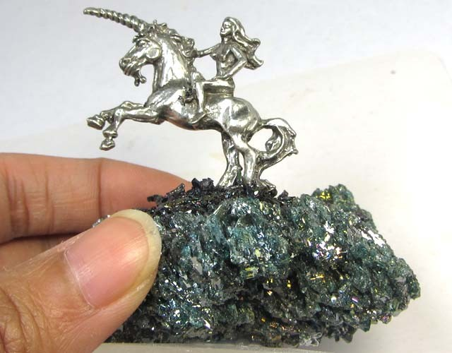 340 CTS PYRITE  STONES WITH MYHTICAL FIGURE  MYGS 194