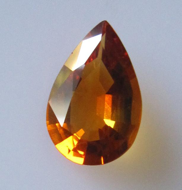 Maderia Colour Citrine, Pear Shape, 2.23cts, Super Quality