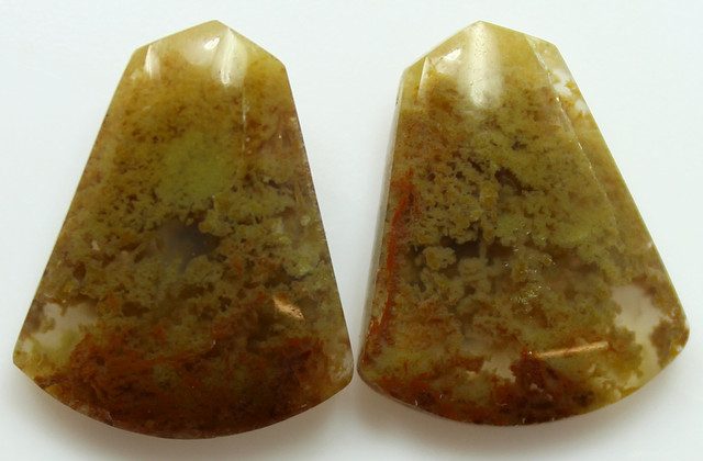 17.80 CTS MT MAURY AGATE PAIR OF STONES