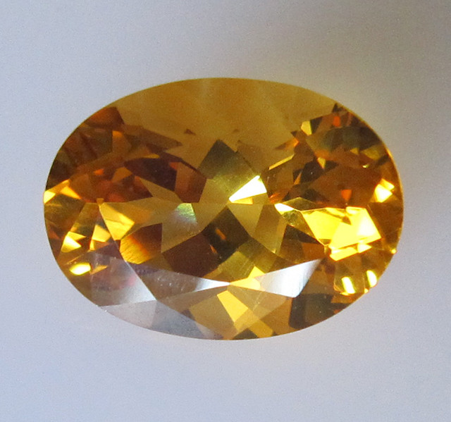 Golden Yellow Citrine Oval Shape, 5.58cts