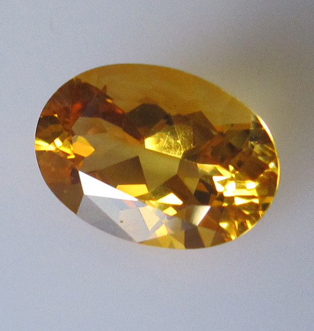 Golden Yellow Citrine Oval Shape, 4.97cts