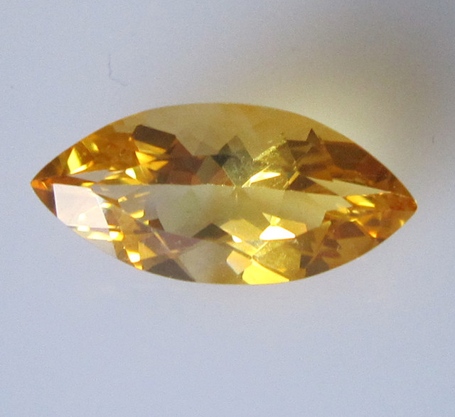 Golden Yellow Citrine Marquise Shape, 2.50cts