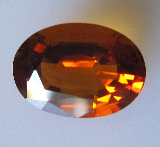 Maderia Colour Citrine, Oval Shape, 3.71cts, Super Quality