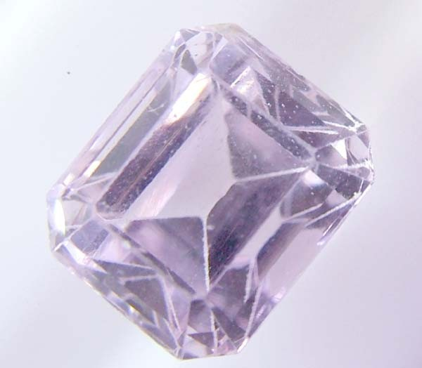 PINK KUNZITE FACETED STONE 5.5 CTS AS-A