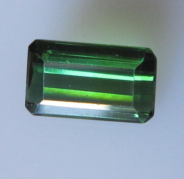 Green Tourmaline Emerald Cut, 2.19cts