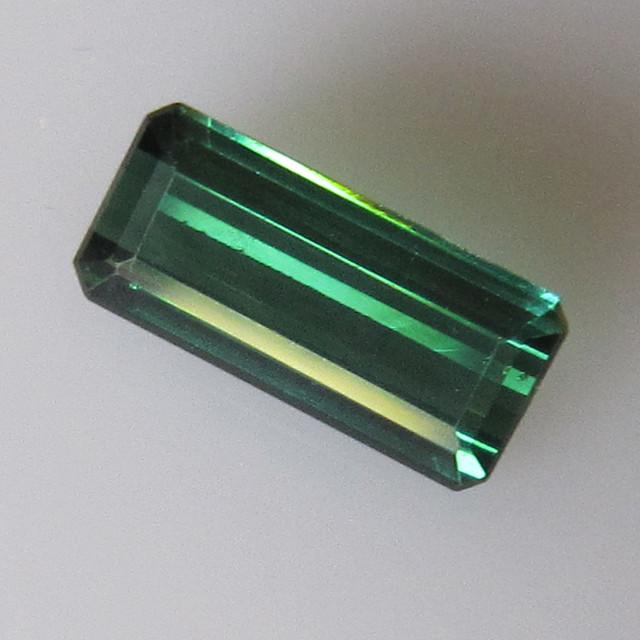 Blueish/Green Tourmaline Emerald Cut, 2.08cts