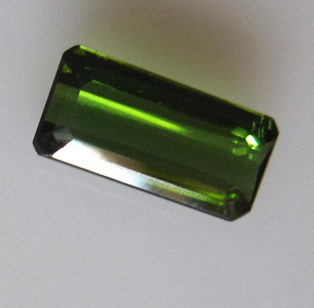 Green Tourmaline Emerald Cut, 1.42cts