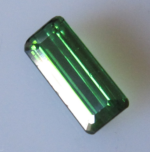 Green Tourmaline Emerald Cut, 2.28cts