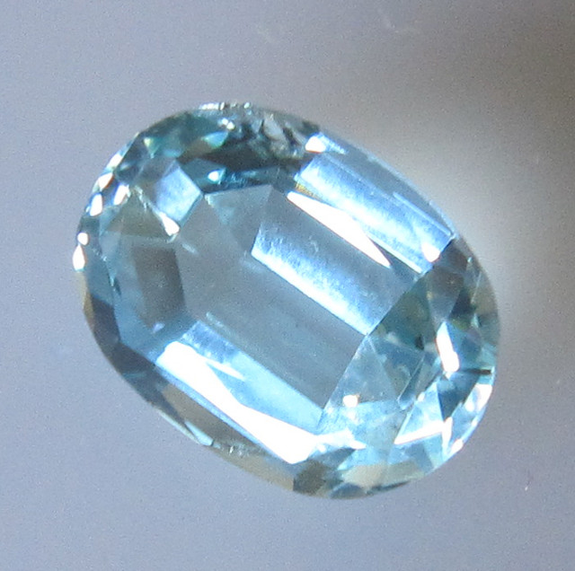 Natural Aquamarine Oval Cut, 3.26cts