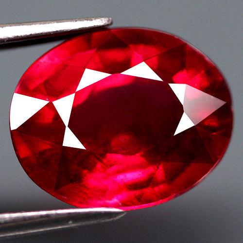 2.98 Carat VVS/VS Fiery Cherry Ruby - Gorgeous