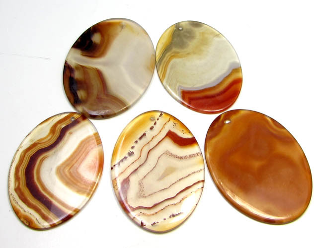190 CTS FIVE 50X35 MM DI   UNIQUE CRAZY   AGATE   AGR 404
