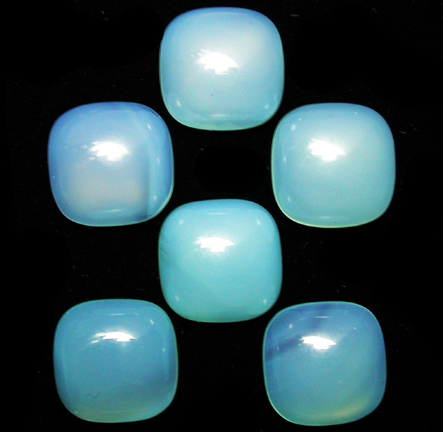 36.36 CTS  PARCEL  BLUE CHALCEDONY STONES.[MGW2668]