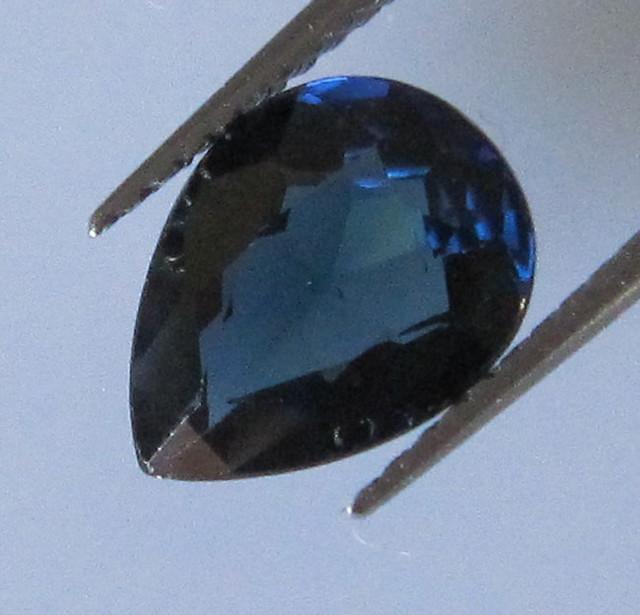 1.85cts Natural Australian Blue Pear Shape Sapphire
