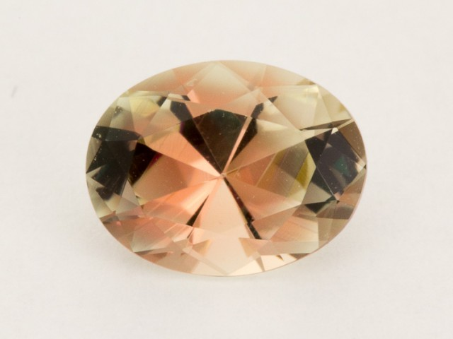 1.15ct Oregon Sunstone, Pink/Clear Oval (S706)