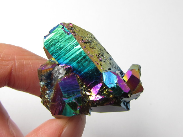55.2 CTS  STUNNING TITANIUM TREATED CRYSTAL      MS1653