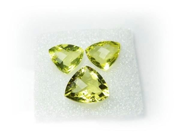 Natural Jewelery Set Lemon Quartz Stone Set J380