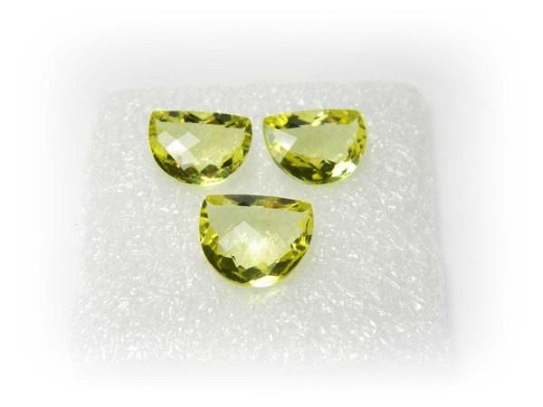 Natural Jewelery Set Lemon Quartz Stone Set J385