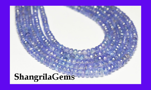 Special Listing for Clem *NEW* VIP Collection A+ TANZANITE beads  16