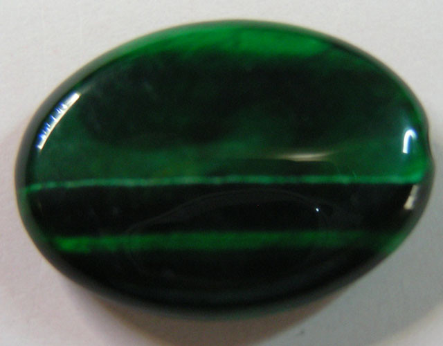23 CTS TIGERS EYE DYED GREEN 11298
