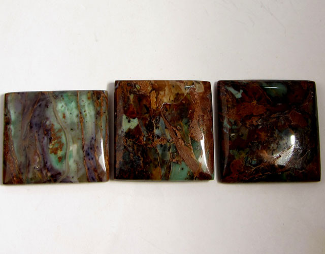 209 CTS THREE SEA JASPER GEMSTONES MS 1663