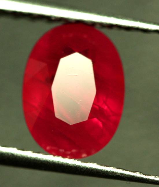 2.00 CTS CERTIFIED RED BURMESE RUBY - HEAT ONLY [CDR48]