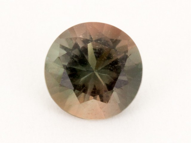 0.5ct Oregon Sunstone, Dichroic Red/Green Round (S806)