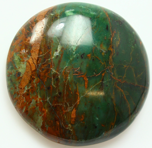 68.50 CTS SEA JASPER LARGE CAB PERFECT POLISH STONE
