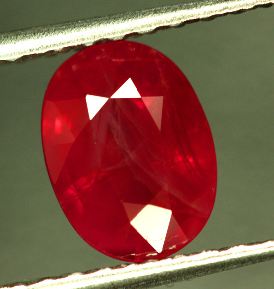 1.63 CTS CERTIFIED RED BURMESE RUBY - HEAT ONLY [CDR42]