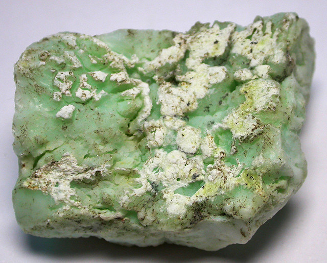 165.00 CTS LARGE INDONESIAN CHRYSOPHRASE ROUGH [FLA110]