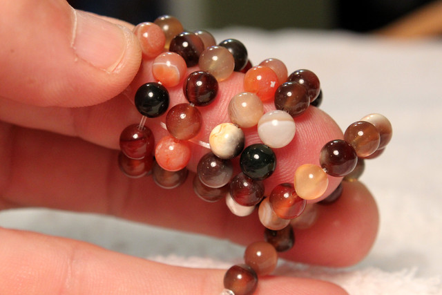 109 Tcw. African Agate Strand, 15.5 Inches, 6mm Pcs.