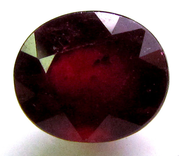 2.45 CTS FACETED RED RUBY STONE 11 916