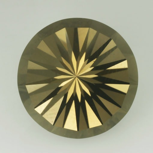 FACETED INTO A UNIQUE DESIGN