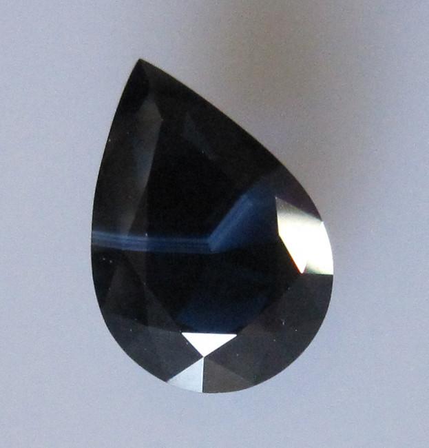 4.16cts Natural Australian Blue Pear Shape Sapphire