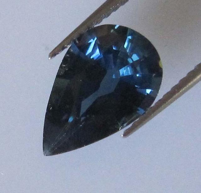 2.35cts Natural Australian Blue Pear Shape Sapphire