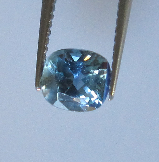 0.67cts Natural Australian Cushion Shape Blue Sapphire