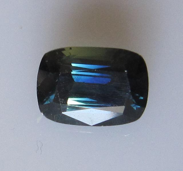 3.61cts Natural Australian Cushion Shape Blue Sapphire