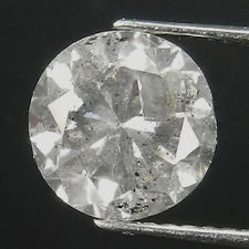 NATURAL -FANCY-GREY-WHITE-2.05CTW SIZE DIAMOND-1PCS,NR
