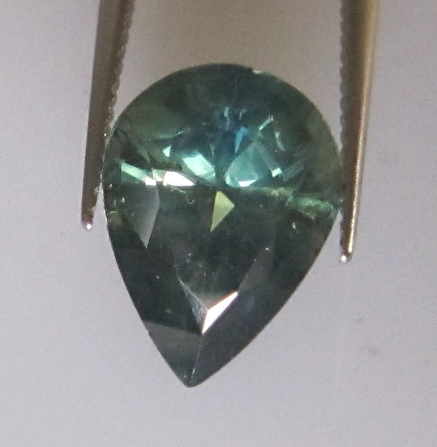 3.05cts Natural Australian Parti Colour Pear Shape Sapphire