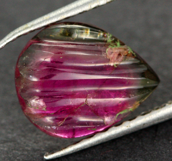 1.98 CTS QUALITY TOURMALINE CARVING -STUNNING  [TRM2]