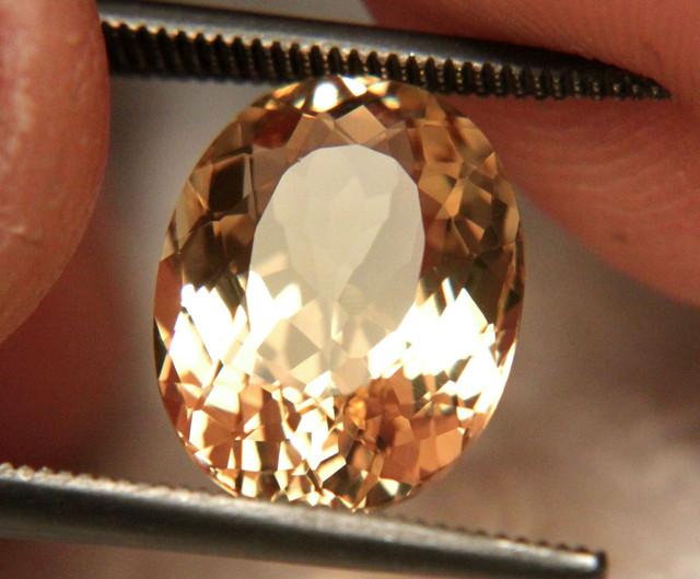 4.81 Carat VVS1 South American Golden Beryl - Superb