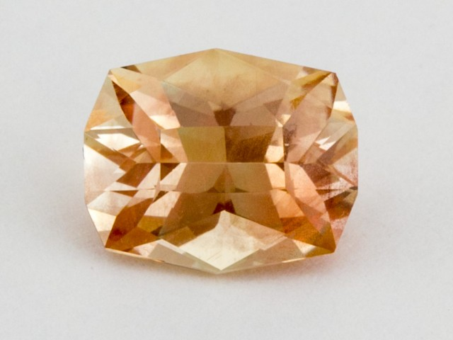 3.5ct Oregon Sunstone, Peach Octagon (S254)