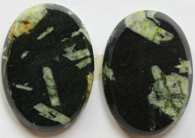 38.70 CTS FEATHER AGATE PAIR OF STONES