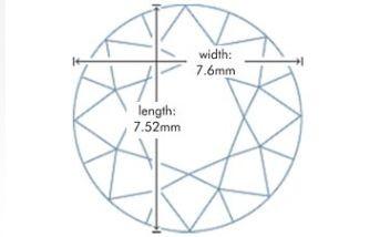 1.70 Round Brillinat Diamond G-VS2 GIA CERTIFICATE NR