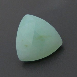 4.36ct FACETED Peruvian BLUE  OPAL ~ Natural Color !